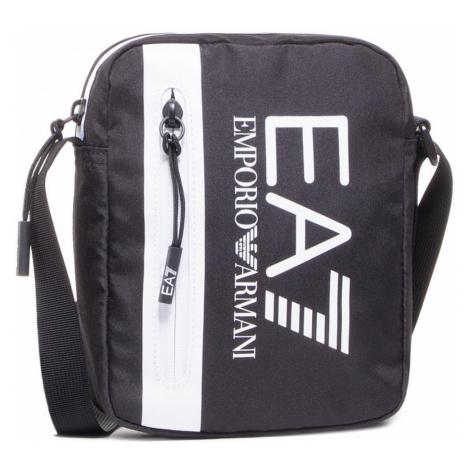 Taška cez plece EA7 EMPORIO ARMANI Black/White