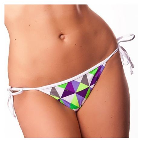 Dámske Plavky 69SLAM Nohavičky Triangle Metric Green
