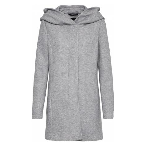 VERO MODA Prechodný kabát 'VERODONA'  svetlosivá
