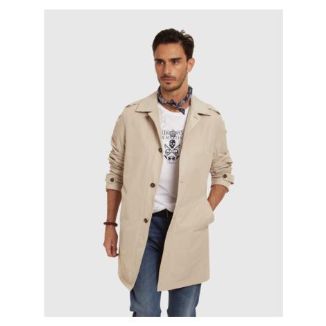 Kabát La Martina Man Trench Cotton Poly Memory
