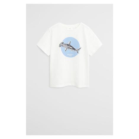 Mango Kids - Detské tričko Blue 110-164 cm