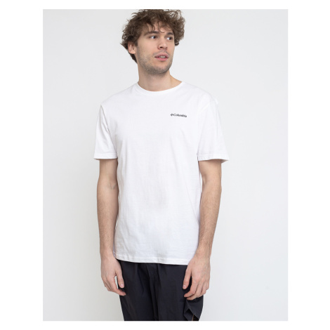 Columbia North Cascades Short Sleeve Tee 100 White