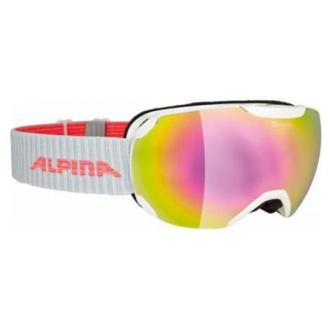 Alpina Sports PHEOS S MM biela - Unisex lyžiarske okuliare
