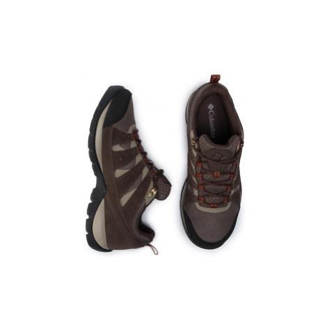 Columbia Trekingová obuv Redmond V2 Wp BM0834 Hnedá