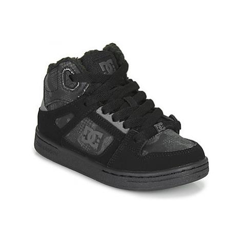 DC Shoes PURE HIGH-TOP Čierna