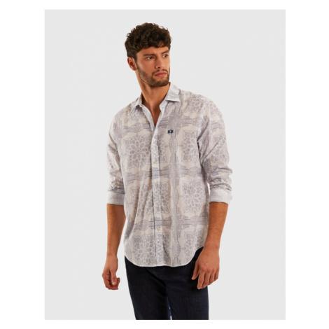 Košeľa La Martina Man L/S Shirt Poplin Printed