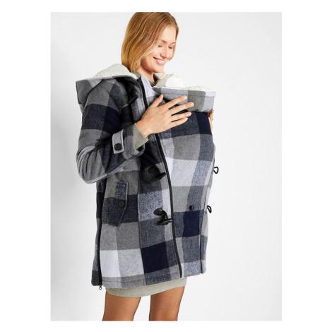 Materská bunda s kožušinou bonprix