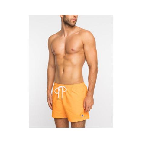 Champion Plavecké šortky 213090 Oranžová Regular Fit