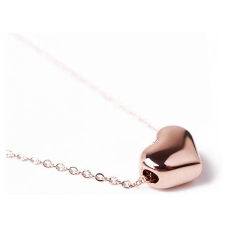 Vuch Dámský náhrdelník Deep Love Rose Gold