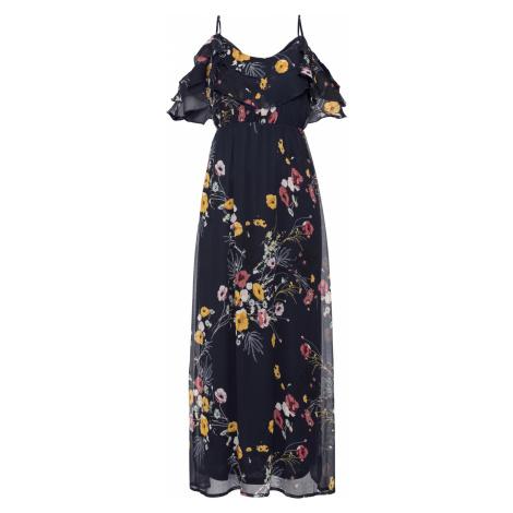 Maxi šaty s kvetovanou potlačou bonprix