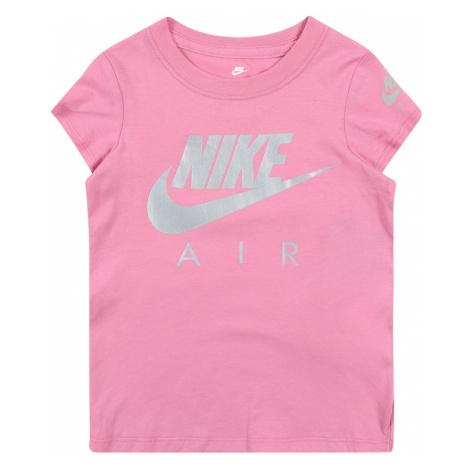 Nike Sportswear Tričko 'FUTURA'  ružová / sivá