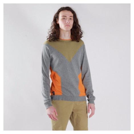 Šedo-oranžový sveter – Capitol Native Youth