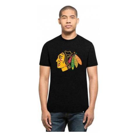 47 NHL CHICAGO BLACKHAWKS 47 CLUB TEE čierna - Pánske tričko