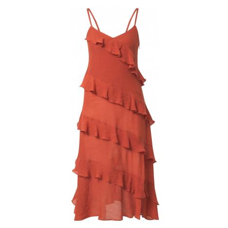 MINKPINK Šaty 'LEAH'  oranžovo červená
