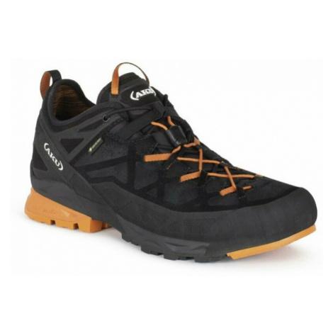 Pánske Topánky AKU Rock Dfs GTX čierno / oranžová