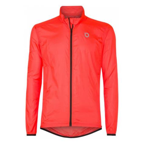 Briko FRESH PACKABLE oranžová - Ľahká cyklistická bunda