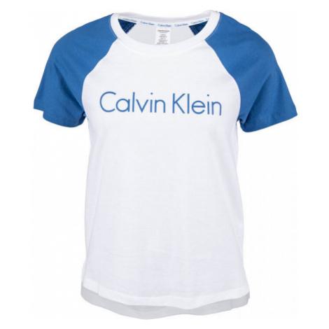Calvin Klein S/S CREW NECK biela - Dámske tričko