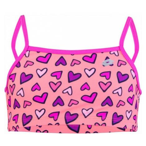 Lotto CLYRA svetlo ružová - Dievčenské dvojdielne plavky
