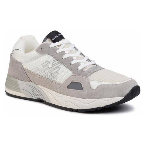 Sneakersy EMPORIO ARMANI - X4X245 XL697 A602 Plaster/Off White