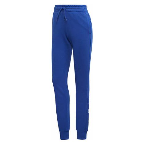 Modré dámske nohavice Adidas