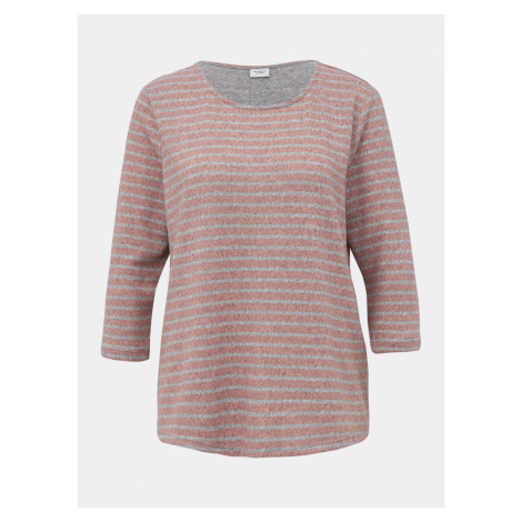 Staroružový pruhovaný sveter Jacqueline de Yong Elin