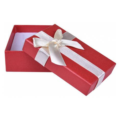 JK Box Červená krabička na súpravu šperkov AP-6 / A10 JKbox