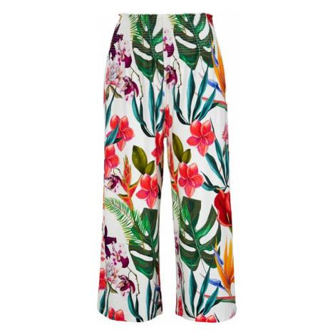 Nohavicová sukňa s riasením v páse