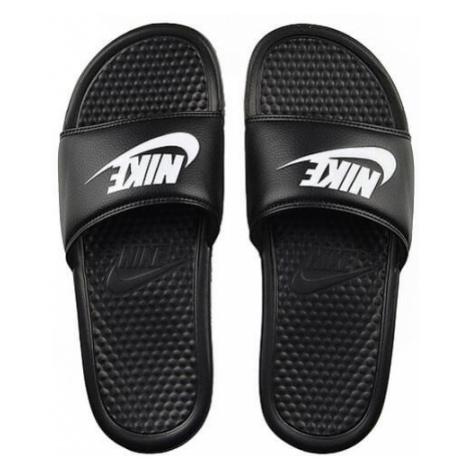 Pánské šlapky Nike Benassi Just Do It Black White 343880-090 - Veľkosť EU:46-Veľkosť US:12-Veľko