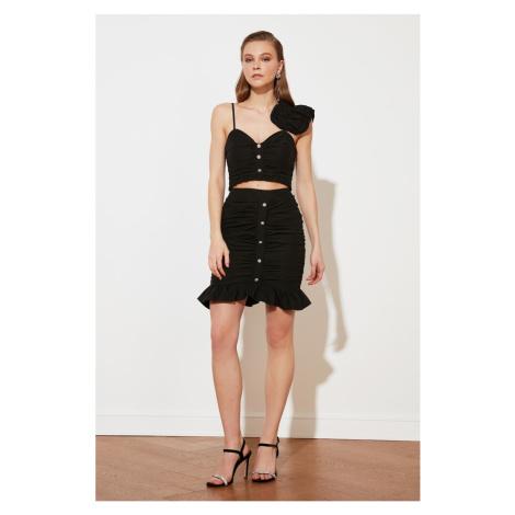 Trendyol Black Stone Skirt
