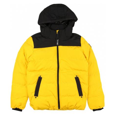 Cars Jeans Zimná bunda 'SCOLO'  žltá / čierna