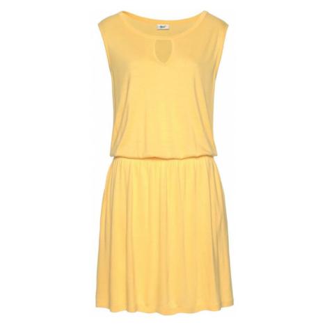 BEACH TIME Plážové šaty  žltá Beachtime