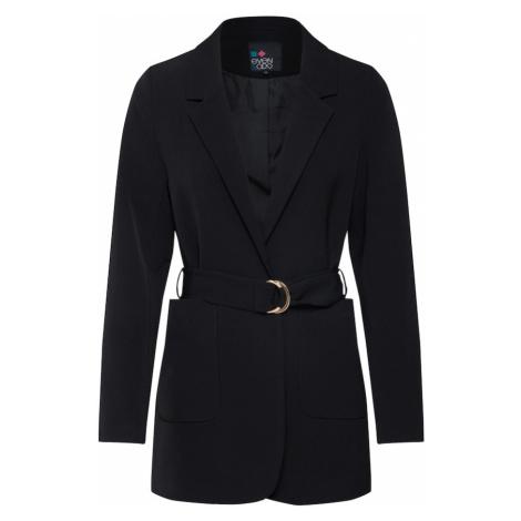 even&odd Prechodná bunda  čierna