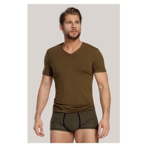 Pánsky SET tričko a boxerky Dandy zelená Cotonella