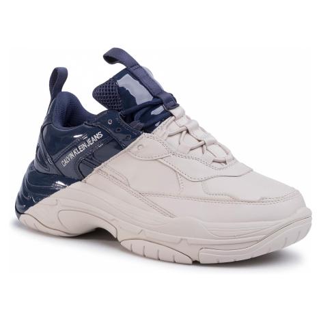 Sneakersy CALVIN KLEIN JEANS - Marrel B4S0652  Stone/Navy