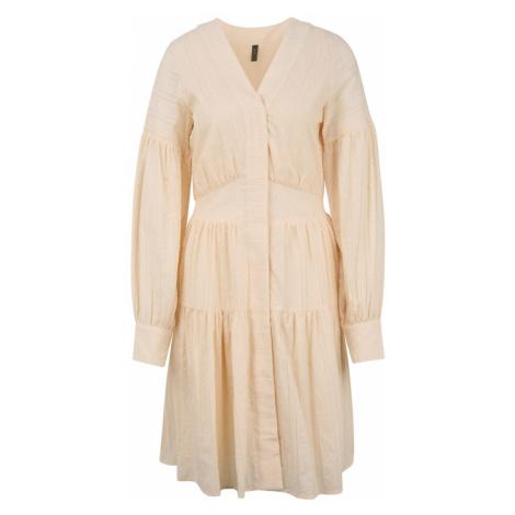 Y.A.S Tall Košeľové šaty 'UNITTA'  krémová