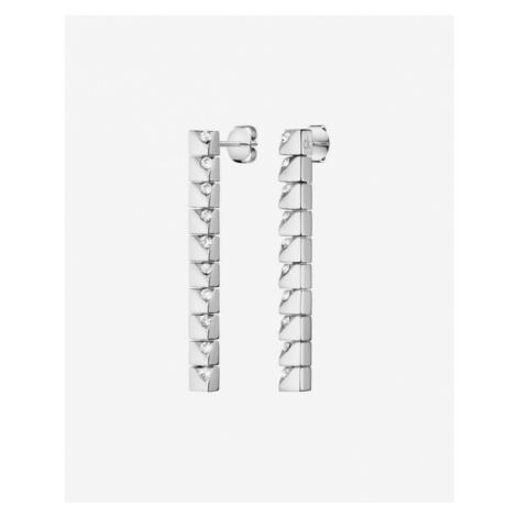 Calvin Klein Tune Náušnice Strieborná