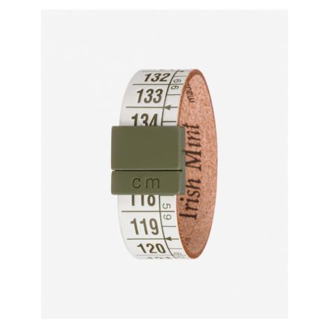 Il Centimetro Irish Mint Náramok Zelená Biela