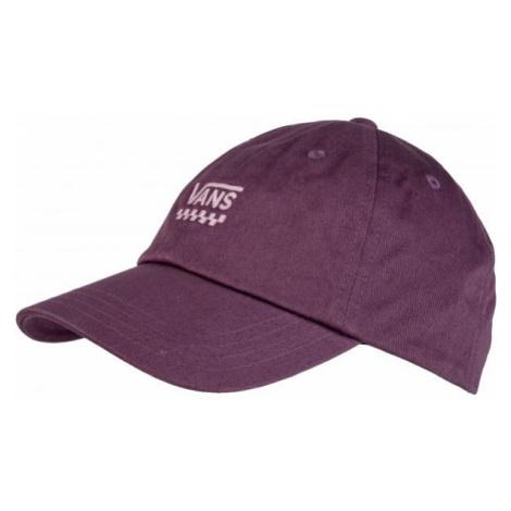 Vans WM COURT SIDE HAT fialová - Dámska šiltovka