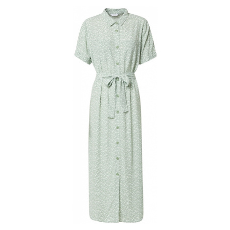 Envii Košeľové šaty 'SILJAN'  mätová / biela