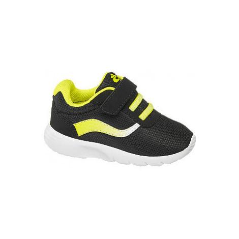 Čierne detské tenisky Bobbi Shoes na suchý zips Bobbi-Shoes