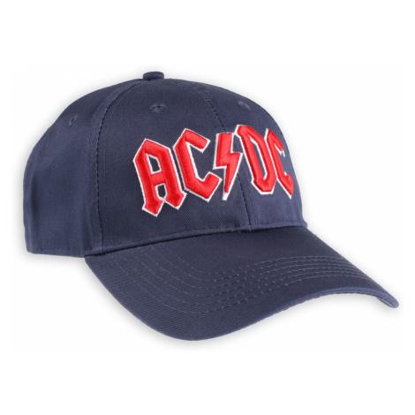 šiltovka ROCK OFF AC-DC Red Logo Navy
