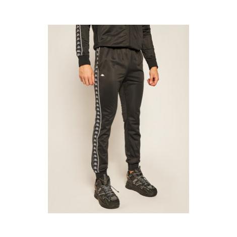 Kappa Teplákové nohavice Helge 308020 Čierna Regular Fit