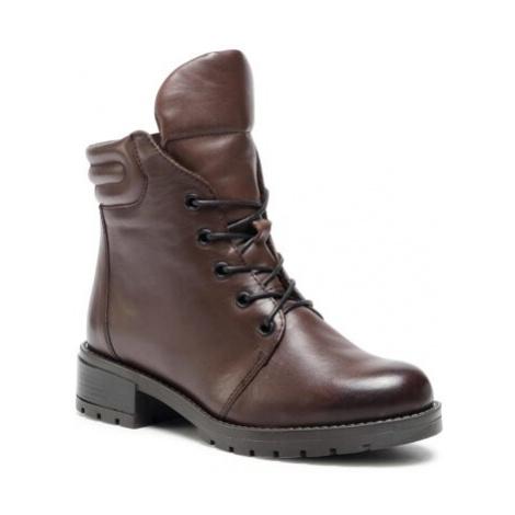 Šnurovacia obuv Lasocki RST-ARTI-08 Prírodná koža(useň) - Lícova