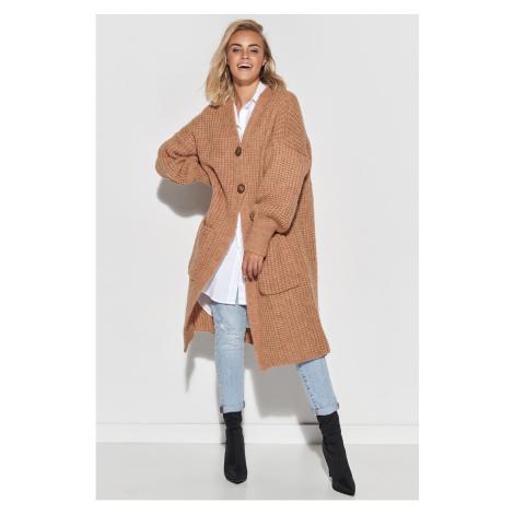 Makadamia Woman's Sweater S101 Camel