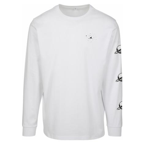 Dámske tričko MR.TEE Ladies Planet Unicorn Longsleeve Farba: white