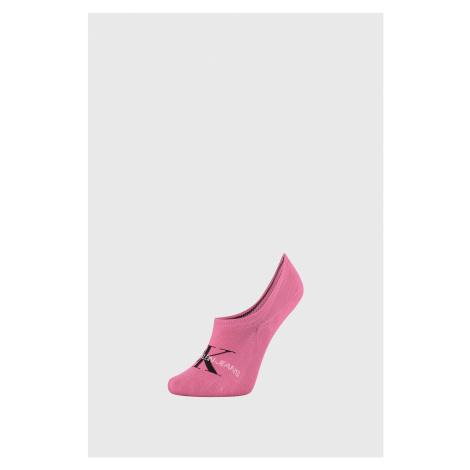 Dámske ponožky Calvin Klein Brooklyn ružové magenta