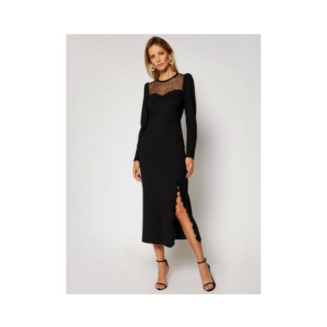 Red Valentino Večerné šaty UR0MJ05X5JD Čierna Regular Fit