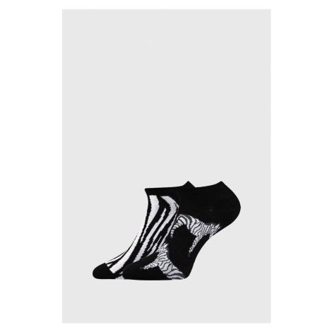 2 PACK dámskych ponožiek Zebra mix Boma