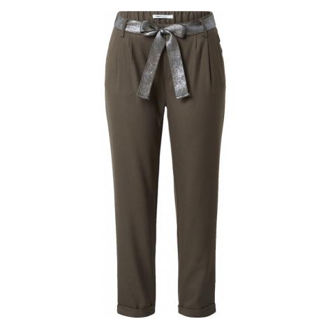 ONLY Plisované nohavice 'RITA'  tmavozelená