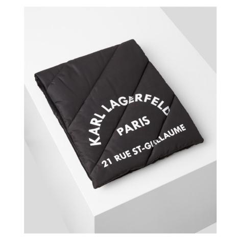 Šál Karl Lagerfeld Rue St Guillaume Puffer Scarf